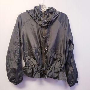 Free people jacket Olive Green Jacket windbreaker